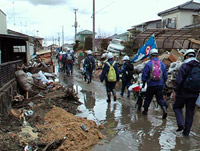 東日本大震災 ボランティア