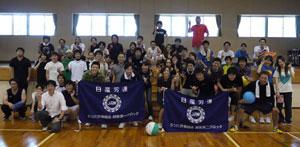 ソフトバレーボール大会予選会