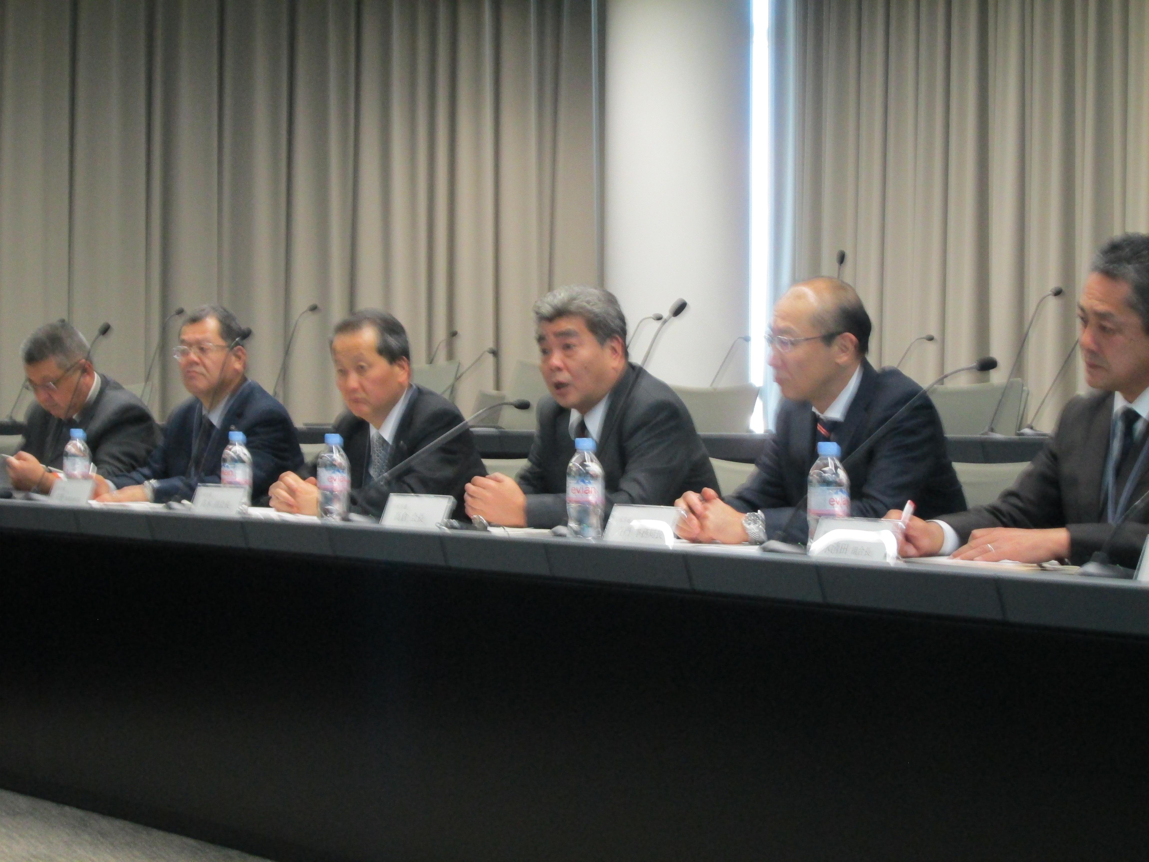2014年度 日産自動車㈱との購買政策に関する労使会議