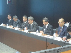 ニュースNGU 購買政策に関する労使会議(組合側)