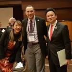 20171212_215241大会組織委員会で同じ理事を務める室伏広治さんと蜷川実花さん