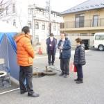 池上議員:災害時に役に立つマンホールトイレの先進地を視察
