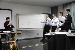 7経営分析演習の様子①