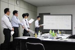 8経営分析演習の様子②