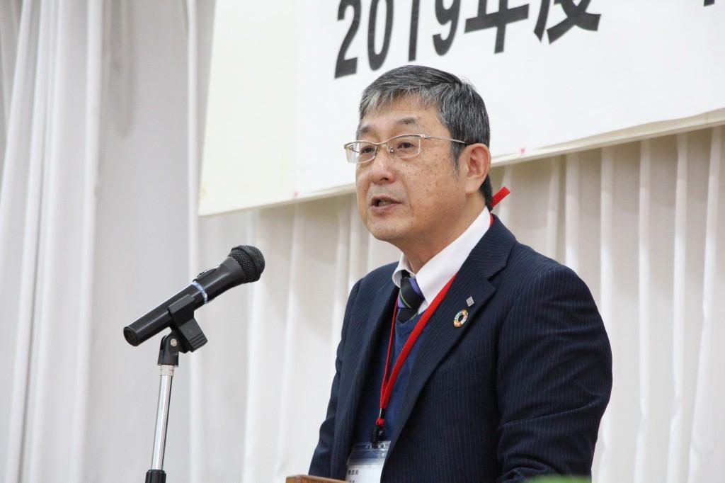 ①浜田局長開講の挨拶
